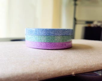 Glitter Thin Set Washi Tape