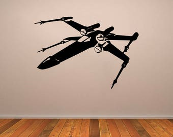 X Wing Fighter Vinyl Decal