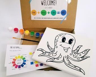 Octopus Paint Kit
