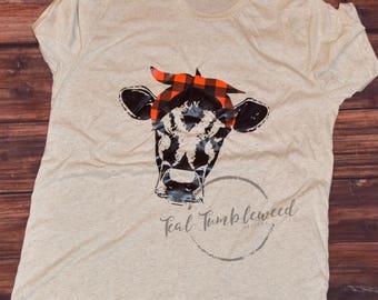 Cow Headband Etsy