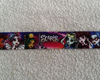 Monster high (by the yard) 25mm Ribbon