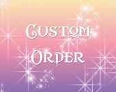 Reserved Listing for Sally H.- Custom Marble Swirl Mini Dragonling