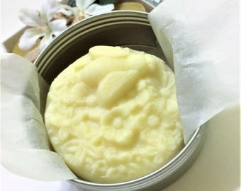 Beeswax Lotion Bar, Lavender Lotion Bar, Lavender, Beeswax, Hand Lotion, Skin Lotion