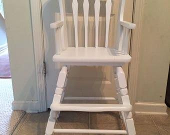 Vintage high chair Etsy