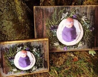 Votre Photo transformée en Art rustique en bois