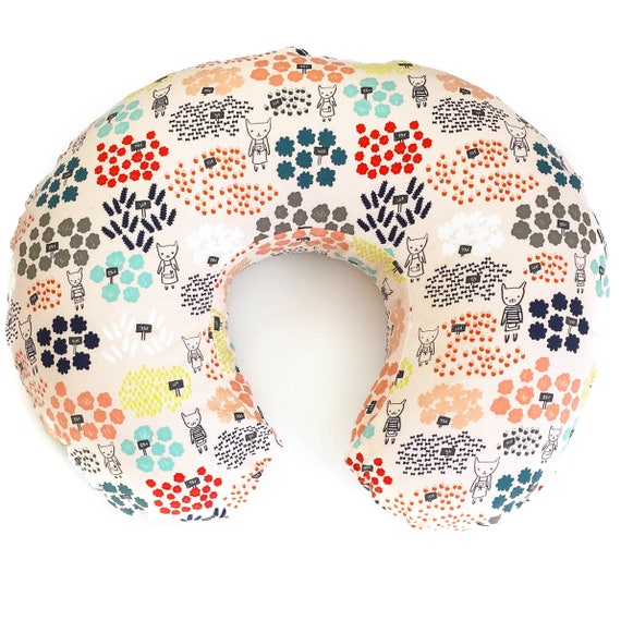 Boppy Cover - 'Flower Shop' Flowers for Sale in Peach - READY-to-SHIP