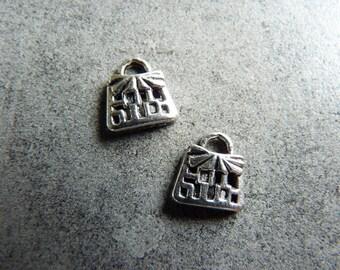 Set of 3 charm/Charms cute little bag