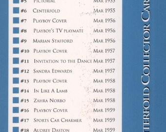 MATURE - Playboy Trading Card March Edt. 1993 - Checklist - Card #Checklist 1
