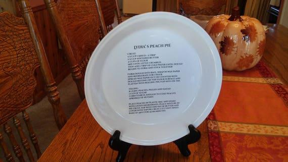 Like this item? & Custom Pie Plate Anniversary Keepsake Wedding Keepsake