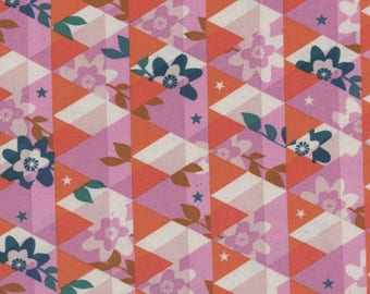 Flutter - Kaleidoscope Orange - Melody Miller - Cotton and Steel Fabrics - Fabric by the Half Yard