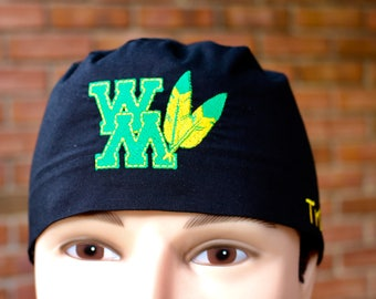 College of William and Mary Custom Embroidered Medical, Surgical or Chemo Cap for Men