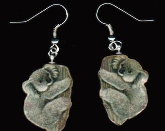 Koala Bear Earrings
