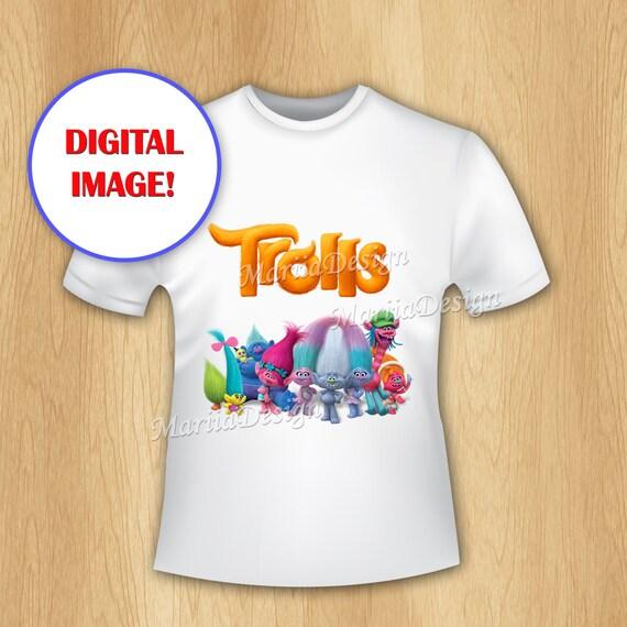 Trolls Iron On Transfer Trolls T-shirt Transfer Trolls