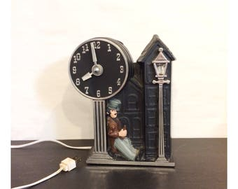Vintage Mastercrafters Happy Time Mantle Clock