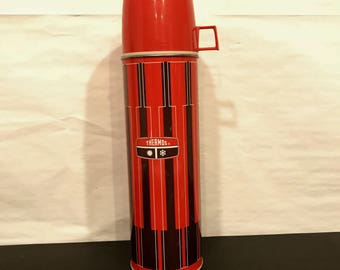 Vintage 1971 King Seeley Large Travel Thermos