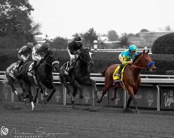 American Pharoah, Breeders' Cup, Keeneland, Triple Crown, Kentucky Derby, Lexington, Kentucky, Equestrian, Photo, Art, Print, Horse Decor