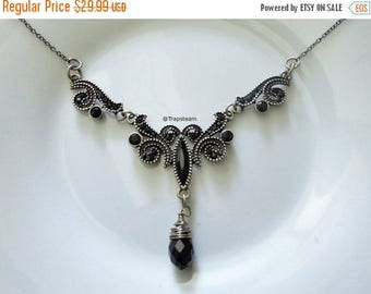ON SALE Victorian Necklace Victorian Choker Jewelry Gothic Victorian Choker Necklace - Victorian Gothic Choker Victorian Gift - Gothic Jewel