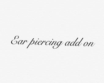 Ears pierced add on (your not buying a reborn )