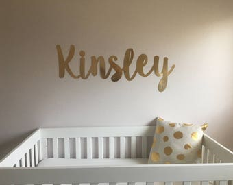Nursery Name  Wall Letters  Wall Name Sign Custom Name Sign Wall Decal