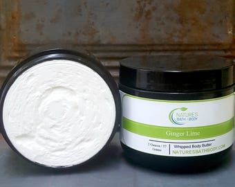 Ginger Lime Whipped Body Butter
