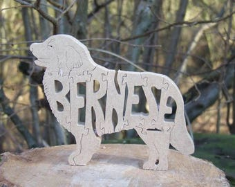 Bernese Mountain dog, Bernese  jigsaw, Bernese  puzzle, Bernese  ornament, Bernese  gift, Bernese  memorial, gift for dog lover