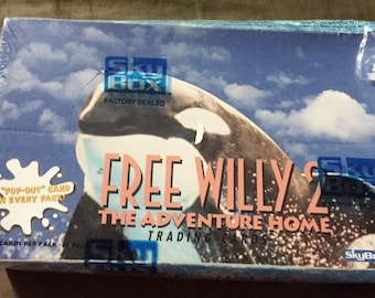 1995 Free Willy 2 - The Adventure Home Trading Cards - SkyBox - Box/36packs See Listing
