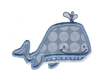 Ocean Creatures Applique Design 7 Machine Embroidery Design 4x4 5x7 6x10