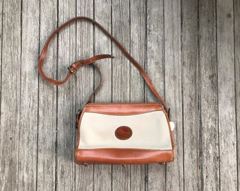 Vintage Dooney & Bourke Leather Crossbody Bag