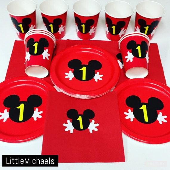 personalized mickey mouse birthday party package mickey mouse