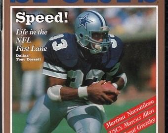 Vintage Magazine - Inside Sports : November 1981 Tony Dorsett VG Ripped Spine White Pages Unread No Label