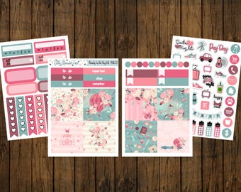 Beauty in the Sky Mini Sticker Kit - Mini Happy Planner - Personal Planner - Travelers Notebook