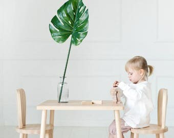 Wooden Kids chair, LittleNOMAD
