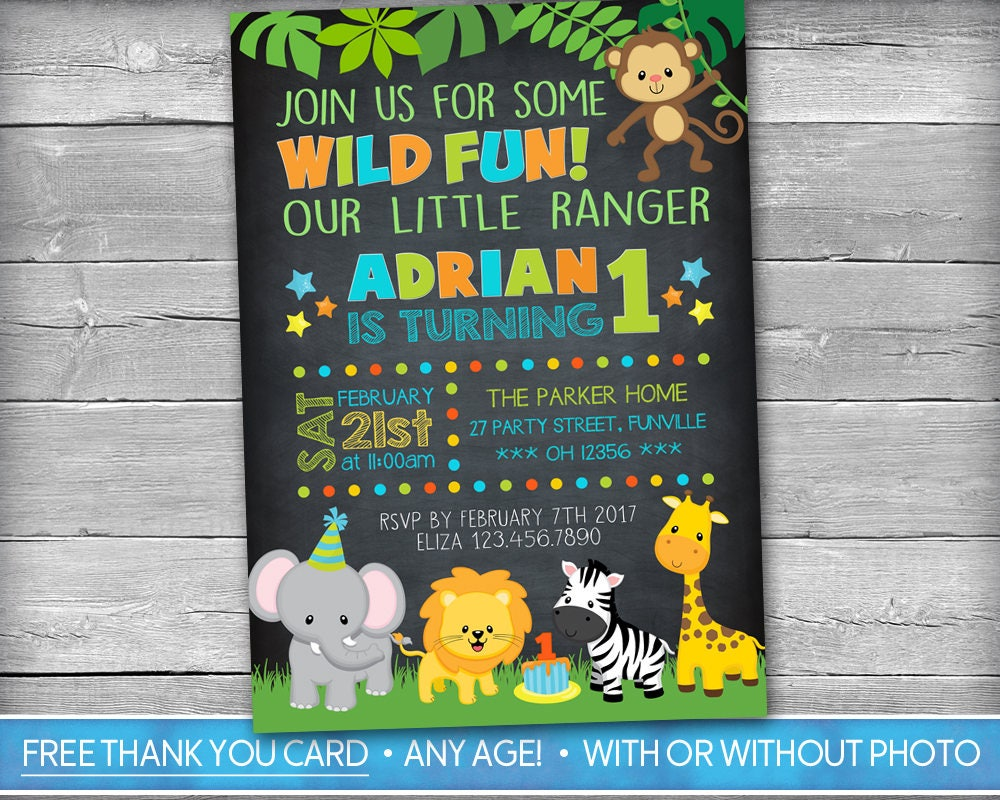 Jungle invitation safari invitation zoo invitation safari jungle invitation safari invitation zoo invitation safari birthday invite woodlands wild filmwisefo