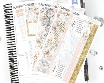 Possibilities January Monthly View Planner Kit | ~200 Stickers | Planner Stickers | For Erin Condren LifePlanner