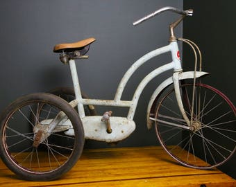 Antique Bike Seat Etsy