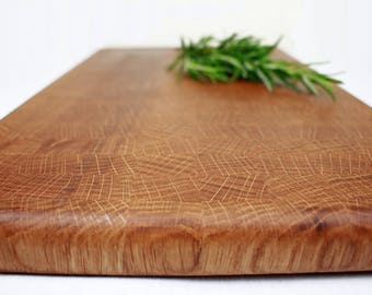 End grain cutting board, end grain chopping board, gift for chef, kitchen gift, wooden cutting board, wooden chopping board, handmade, oak