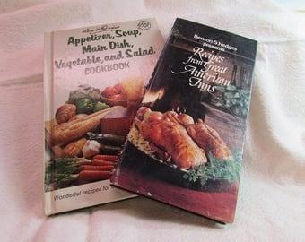Benson Hedges and Lea Perrins Cookbooks