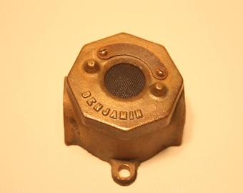Vintage Industrial Benjamin Push Button Switch