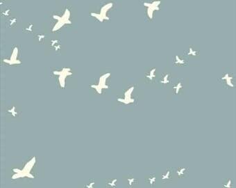 Roman Blind | Roman Shade | Handmade roman shade | flat roman shade | custom roman shade | ice blue roman shade