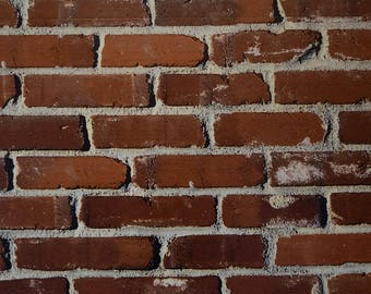 Authentic Brick Wall Vinyl