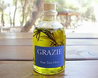 75 pcs Italian Style Olive Oil Favors (60ml / 2oz), Olive Oil Wedding Favors, Olive Oil Baby Shower Favors, Olive Oil Bridal Shower Favors