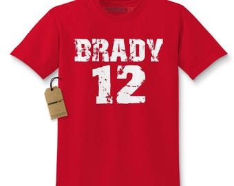 Brady #12 New England Football Kids T-shirt