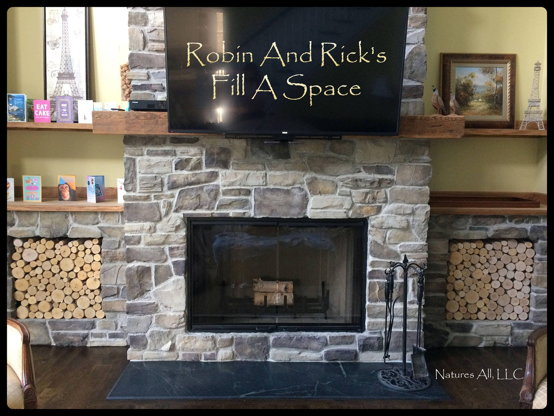 empty fireplace decor fill a space decorative white birch logs
