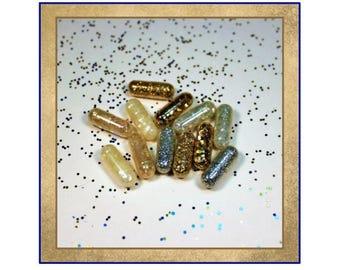 Glitter Elegance, Party Glitter, Christmas Glitter, Sparkle Glitter, Magic Glitter Pill, White Elephant Gift, Party Gag, Glitter Pills, Rave