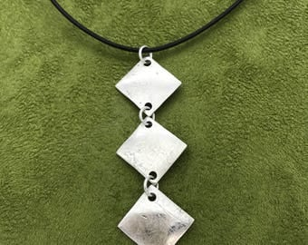 Drop of Silver Squares