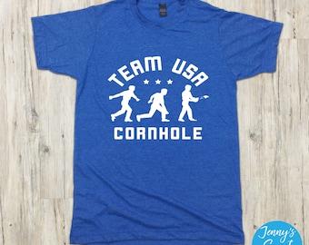 TEAM USA Cornhole Olympics T-Shirt | Cornhole Shirt