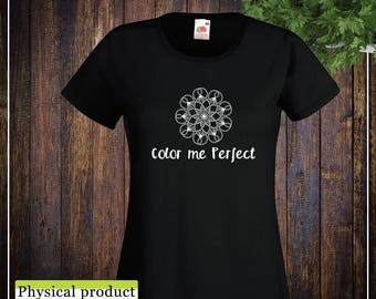 Limited Edition T-shirt Lady: Color Me Perfect