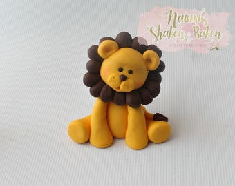 Lion Edible cake Topper
