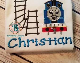 Train-Thomas birthday shirt