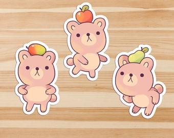 Dancing Bears Sticker Pack